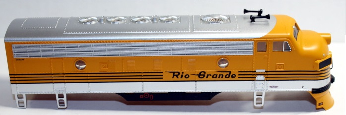 Body Shell - D & RGW (HO F7-A)